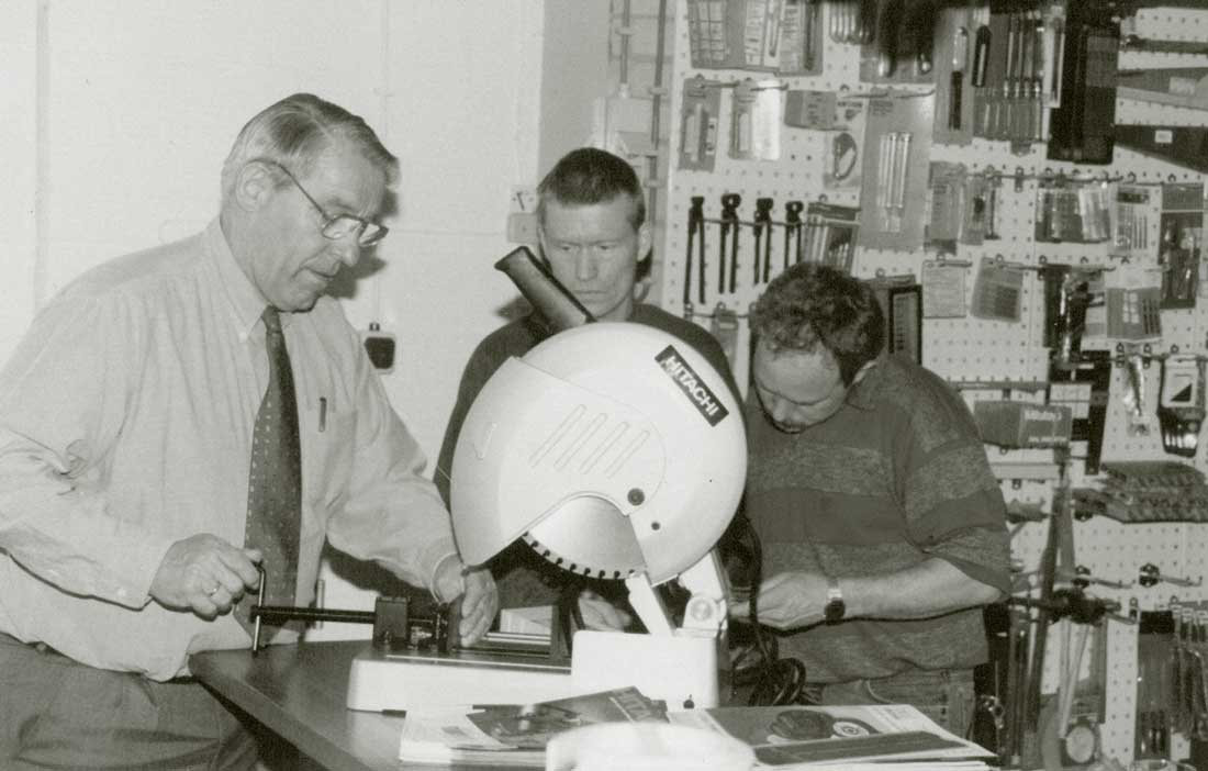 Antoon Schipper (links) voelde zich altijd betrokken bij zijn klanten. En dat is hij vandaag de dag nog steeds.