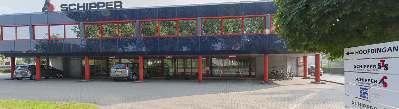 Het hoofdkantoor van Schipper Techniek in Almelo